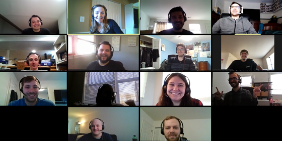 employee video conference