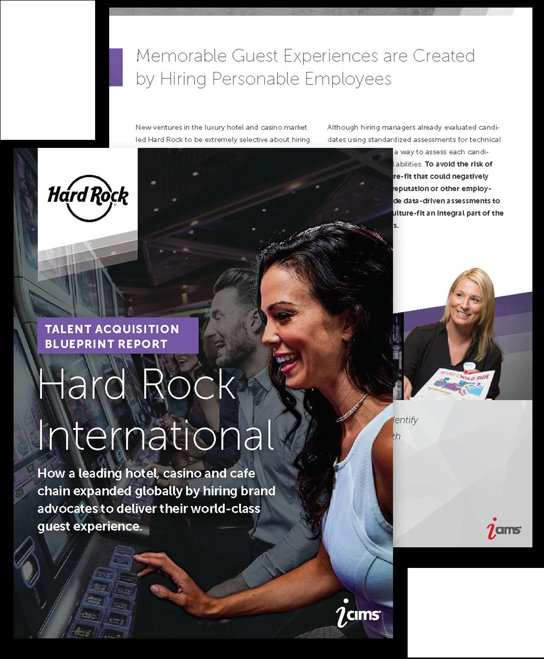 Hard Rock International Talent Acquisition Blueprint Report